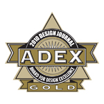 ADEX Gold 2010 Award for Design Excellence logo