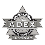 ADEX Platinum Award 2007 for Design Excellence logo