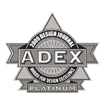 ADEX Platinum 2009 Award for Design Excellence logo