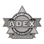 ADEX Platinum 2015 Award For Design Excellence logo
