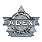 ADEX Silver 2006 Award for Design Excellence logo