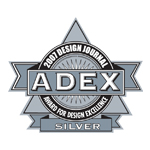 ADEX Silver 2007 Award for Design Excellence logo