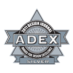 ADEX Silver 2011 Award for Design Excellence logo