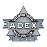 ADEX Silver 2013 Award for Design Excellence logo