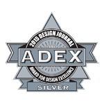 ADEX Silver 2015 Award for Design Excellence logo