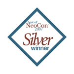 Best of Neocon® 2007 Silver Award logo