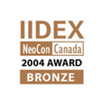 IIDEX® NeoCon® Canada Bronze Award 2004 logo