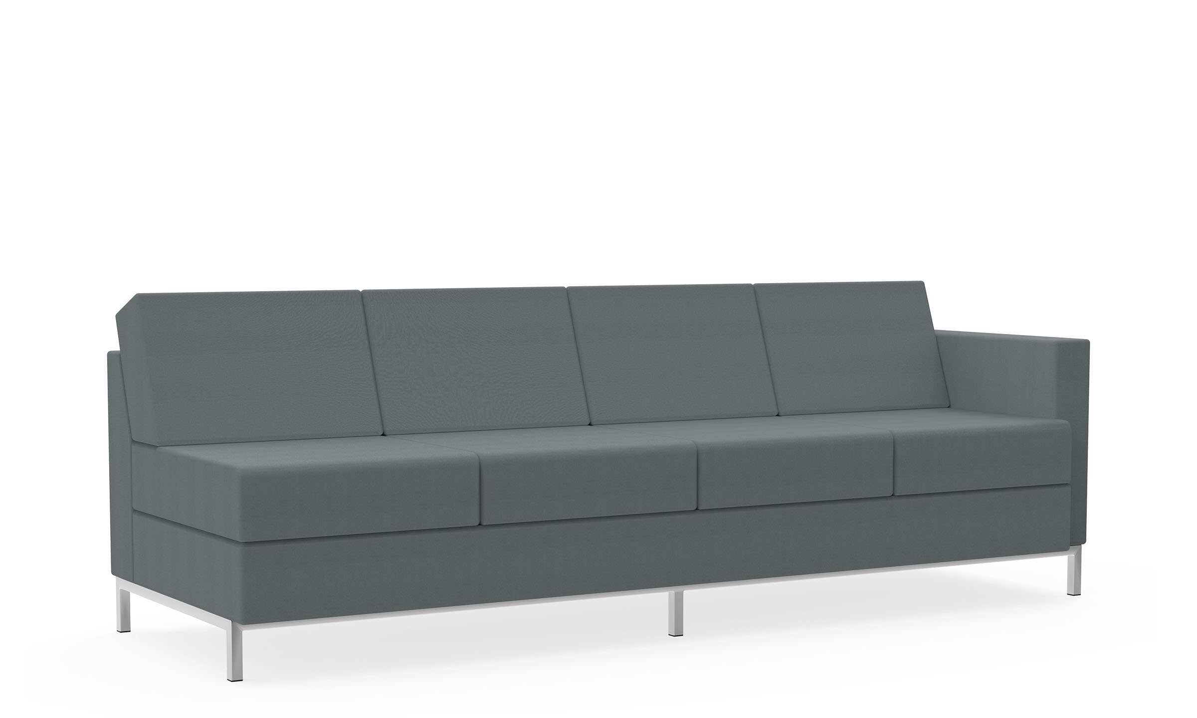 Four-Seat Sofa, Left Arm Model Thumbnail