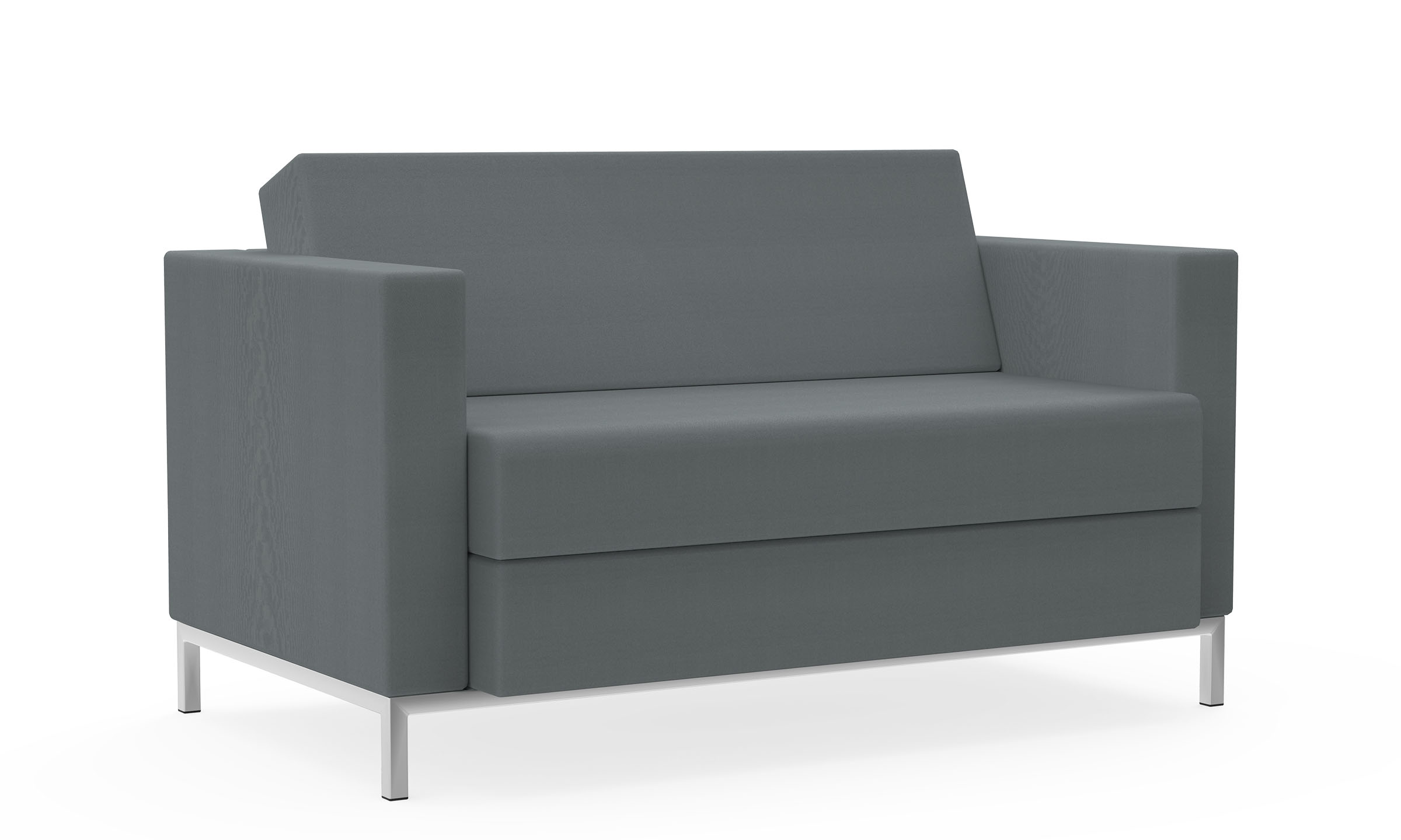 Two-Seat Sofa, Duo Cushion, Left & Right Arms Model Thumbnail