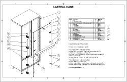 Lateral Case Sheet Cover