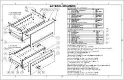 Lateral Drawers Sheet Cover