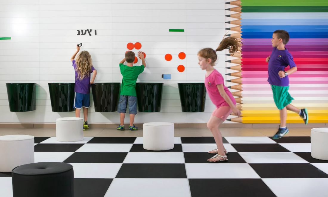 5 Creative School Interiors that Inspire Active Young Learners