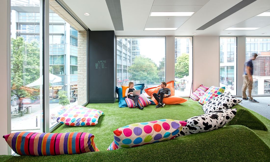 Beanbags in the Office: Are They Here to Stay?
