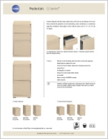 G Series Pedestals Sell Sheet Brochure Cover