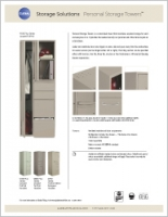 Personal Towers Sell Sheet Brochure Cover