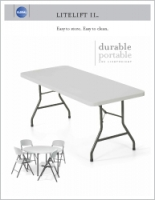 Tables Lite Lift II Brochure Cover