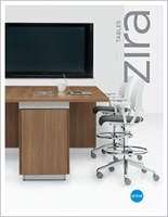 Zira Tables Brochure Cover