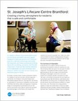 St. Joseph's Lifecare Centre Brochure Cover