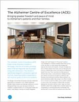 The Alzheimer Centre of Excellence (ACE) Brochure Cover