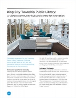 King City Township Public Library Brochure Cover