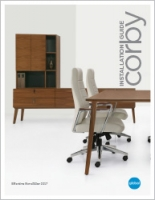 Corby Installation Guide Brochure Cover