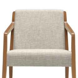 Upholstered Back Armchair Feature Thumbnail