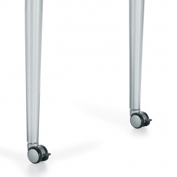 Tapered Legs with Optional Locking Casters Feature Thumbnail