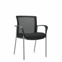 Mesh Low Back Armchair Model Thumbnail