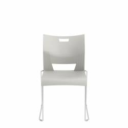 Armless Chair, Polypropylene Seat & Back Model Thumbnail