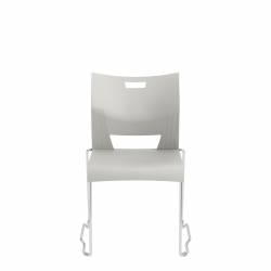 Armless Ganging Chair, Polypropylene Seat & Back Model Thumbnail