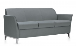 Three Seat Sofa, Aluminum Legs, Matching Piping Model Thumbnail