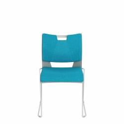 Armless Chair, Upholstered Seat & Back Model Thumbnail