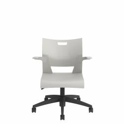 Task Chair with Arms, Polypropylene Seat & Back Model Thumbnail