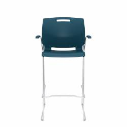 Barstool with Arms, Polypropylene Seat & Back Model Thumbnail