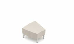 Inside Curve Wide Wedge End Table Model Thumbnail