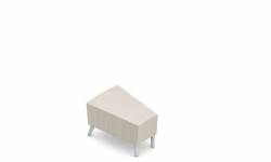 Inside Curve Narrow Wedge End Table Model Thumbnail