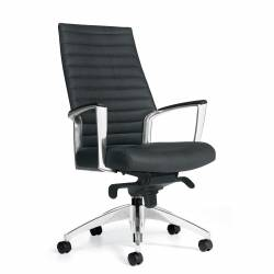 Upholstered High Back Knee-Tilter