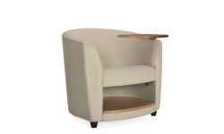 Lounge Chair with Left Tablet & Book Shelf Model Thumbnail