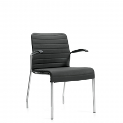 Upholstered Armchair, Cantilever Arm Model Thumbnail
