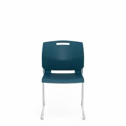 Armless Chair, Polypropylene Seat & Back
