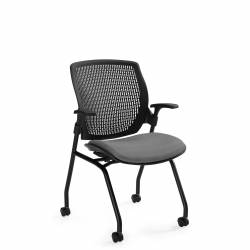 Honeycomb Polypropylene Medium Back Armchair Model Thumbnail