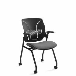 Flexible Polypropylene Medium Back Armchair Model Thumbnail