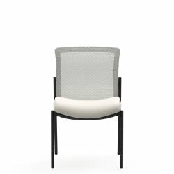 Armless Mesh Low Back Side Chair Model Thumbnail