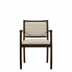 Armchair with Upholstered Back Model Thumbnail