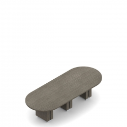 Table de conseil en forme de piste de course, 144 po L x 48 po P Model Thumbnail