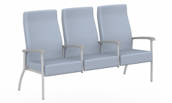 High Back Three Seater, Centre Arms Model Thumbnail