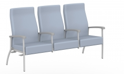 High Back Three Seater, Centre Arms, Right Link Model Thumbnail