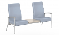 High Back Two Seater, Centre Table Top, Right Link Model Thumbnail