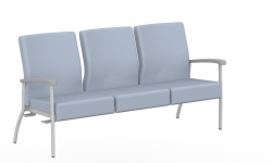 Low Back Three Seater, Right Link Model Thumbnail