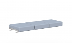 Three Seat Bench Bridge Model Thumbnail